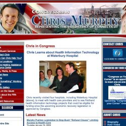 Colleen Gets Her 15 Minutes With Congressman Murphy