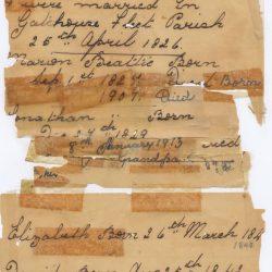 Beattie Letter, Circa 1850-1900