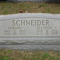 Obituary: Edward Schneider, husband of Eleanor Tierney Schneider
