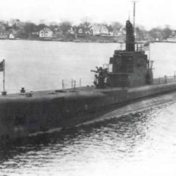 """Chief Quartermaster William Andrew Flaherty Died On the Submarine """"Scorpion"""" in 1944"""