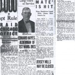 Popular Erie Pennsylvania Alderman Edward Hayes, Dead At 72