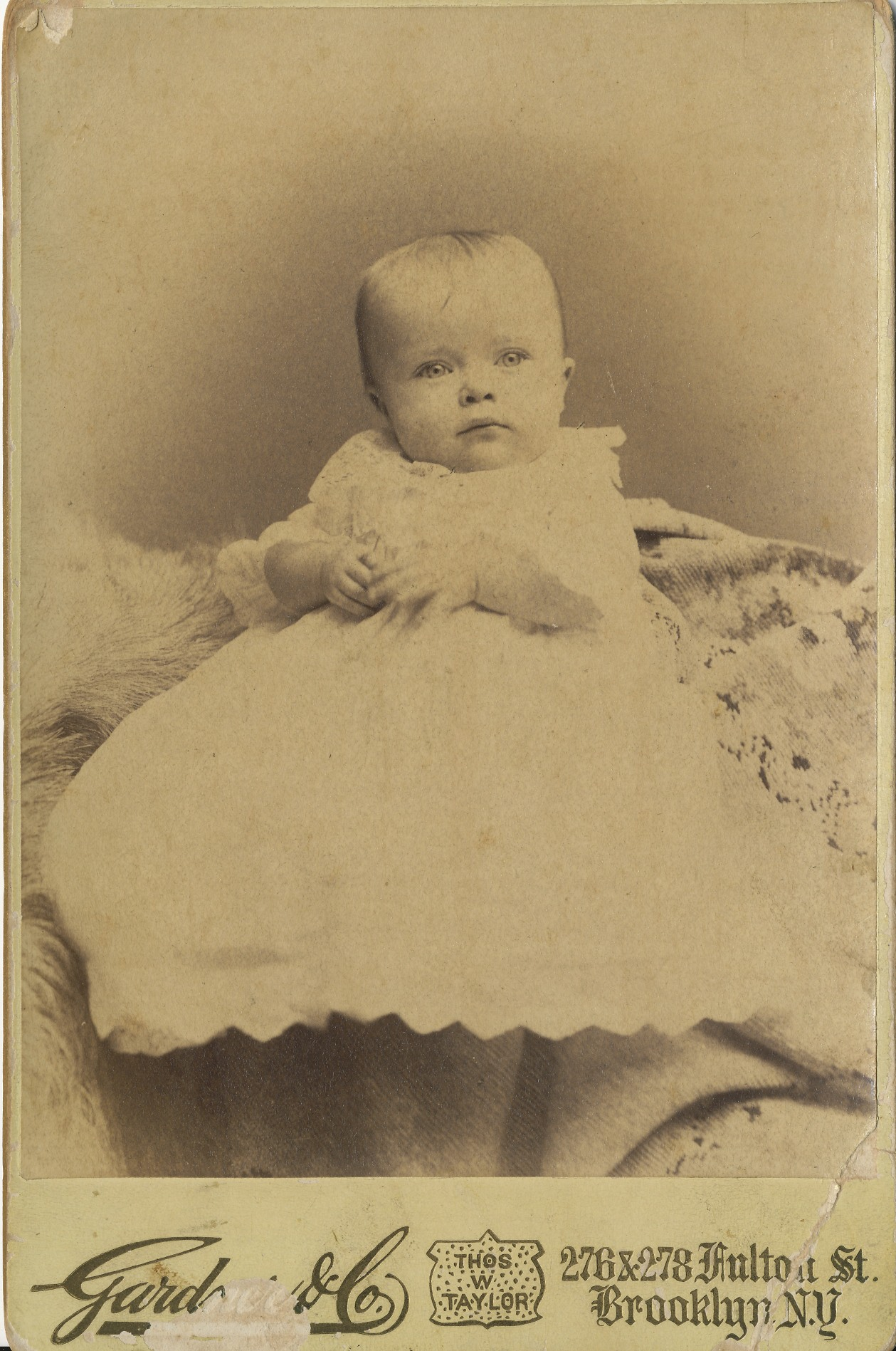 Margaret Mary Sheehan at age 9 months