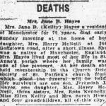 Mrs Jane B (Keilty) Death Notice