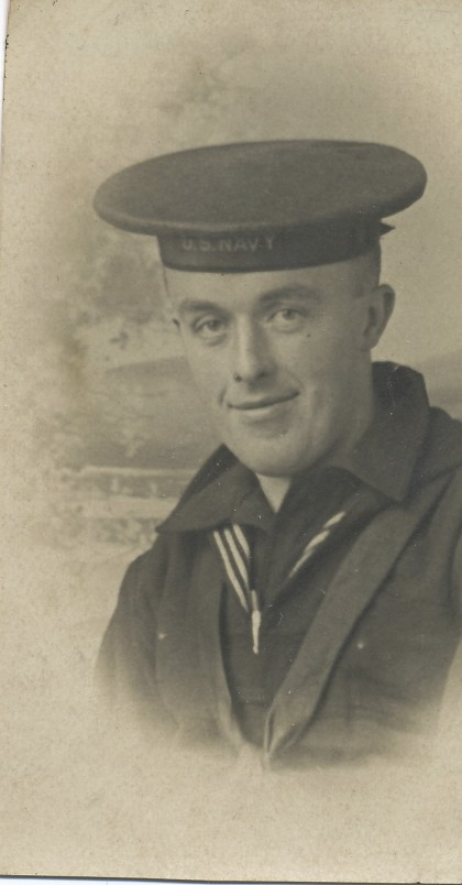 William Sheehan in the Navy